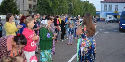 Наши артисты на  дне рождения Кочкуровского района