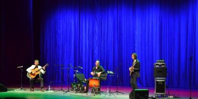 Трио «Pal Mundo»   — один из самых интересных концертов года