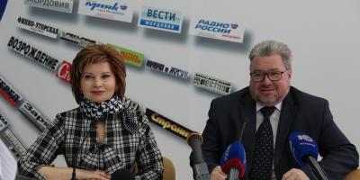 Встреча со СМИ в  пресс-центре РМ
