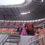 Артисты филармонии  создавали настроение на стадионе «Мордовия-Арена»